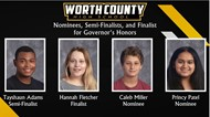 WCHS Announces the Nominees, Semi-Finalists, and Finalist for the Governor's Honors Program