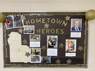 Hometown Heroes Bulletin Board