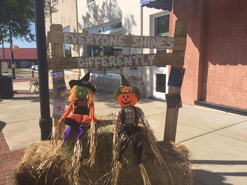 WCHS Special Education Department Wins 1st Place in Scarecrow Contest