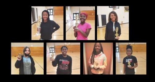 WCSM Girls Basketball End of Year Awards FY21