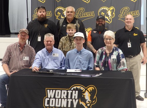 WCHS Senior, Don Terry, Signs to Attend Brewton-Parker College