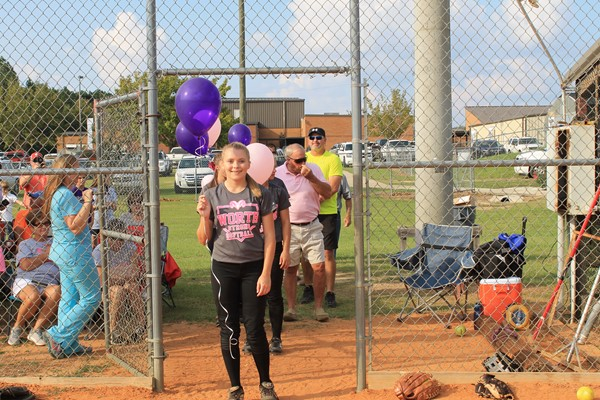 Madison Ryliegh Scott is walking in memory of her Uncle Barry Howard.  He lost his battle to esophageal cancer this year.