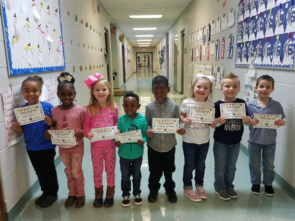 February Students of the week