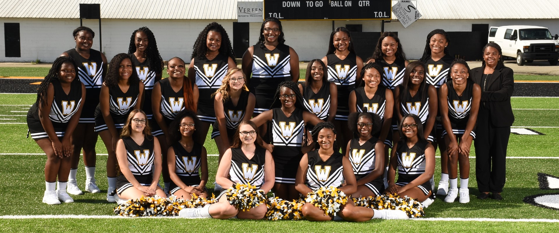 2019-20 Spirit Cheerleaders