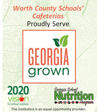 Worth County Schools' Cafeterias Proudly Serve Georgia Grown