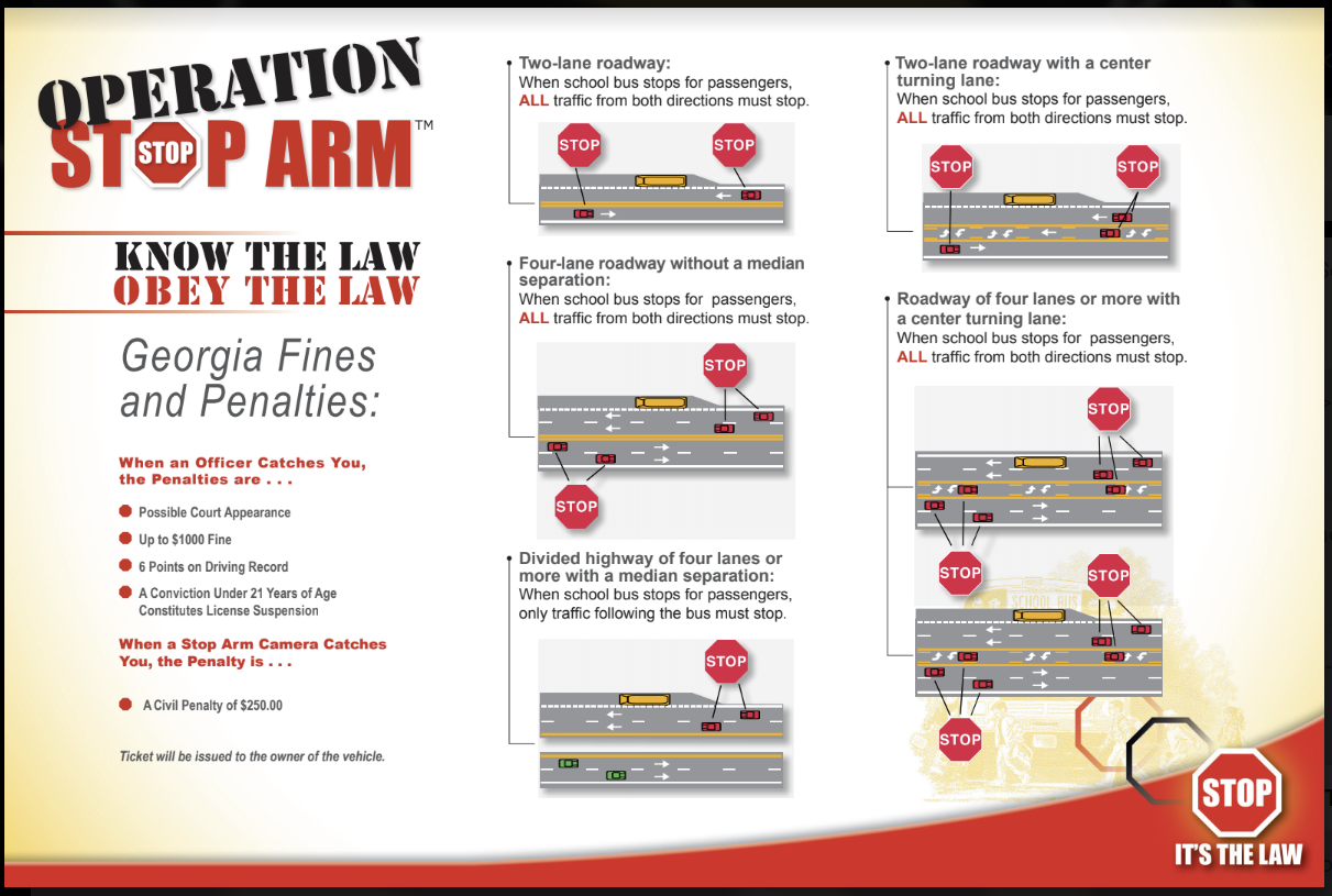 Operation Stop Arm Bus Safety Law