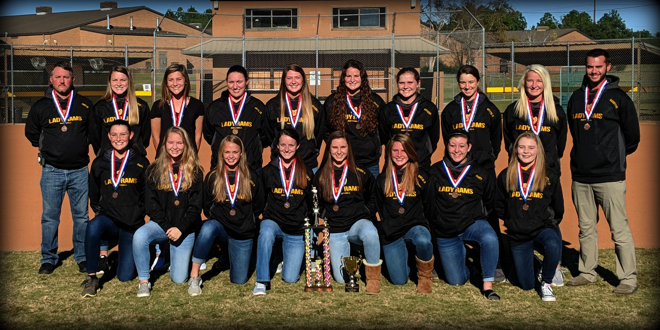 WCHS Softball Team 3rd Place State