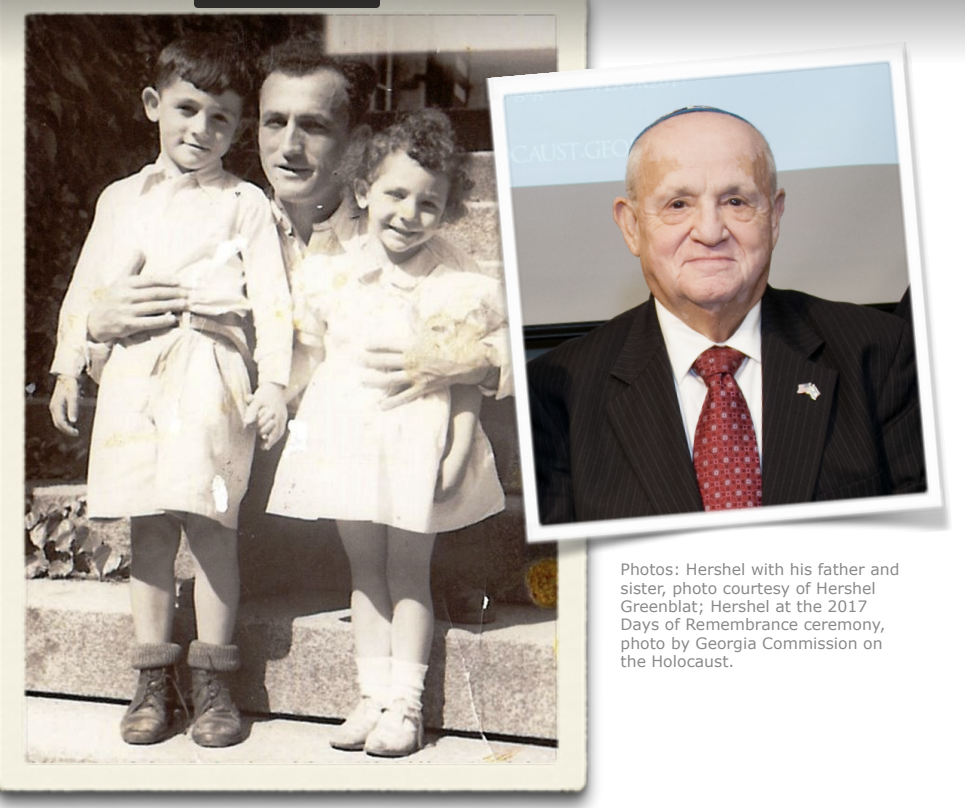Holocaust Survivor, Hershel Greenblat speaks at WCMS