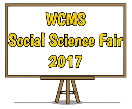 WCMS Social Science Fair 2017
