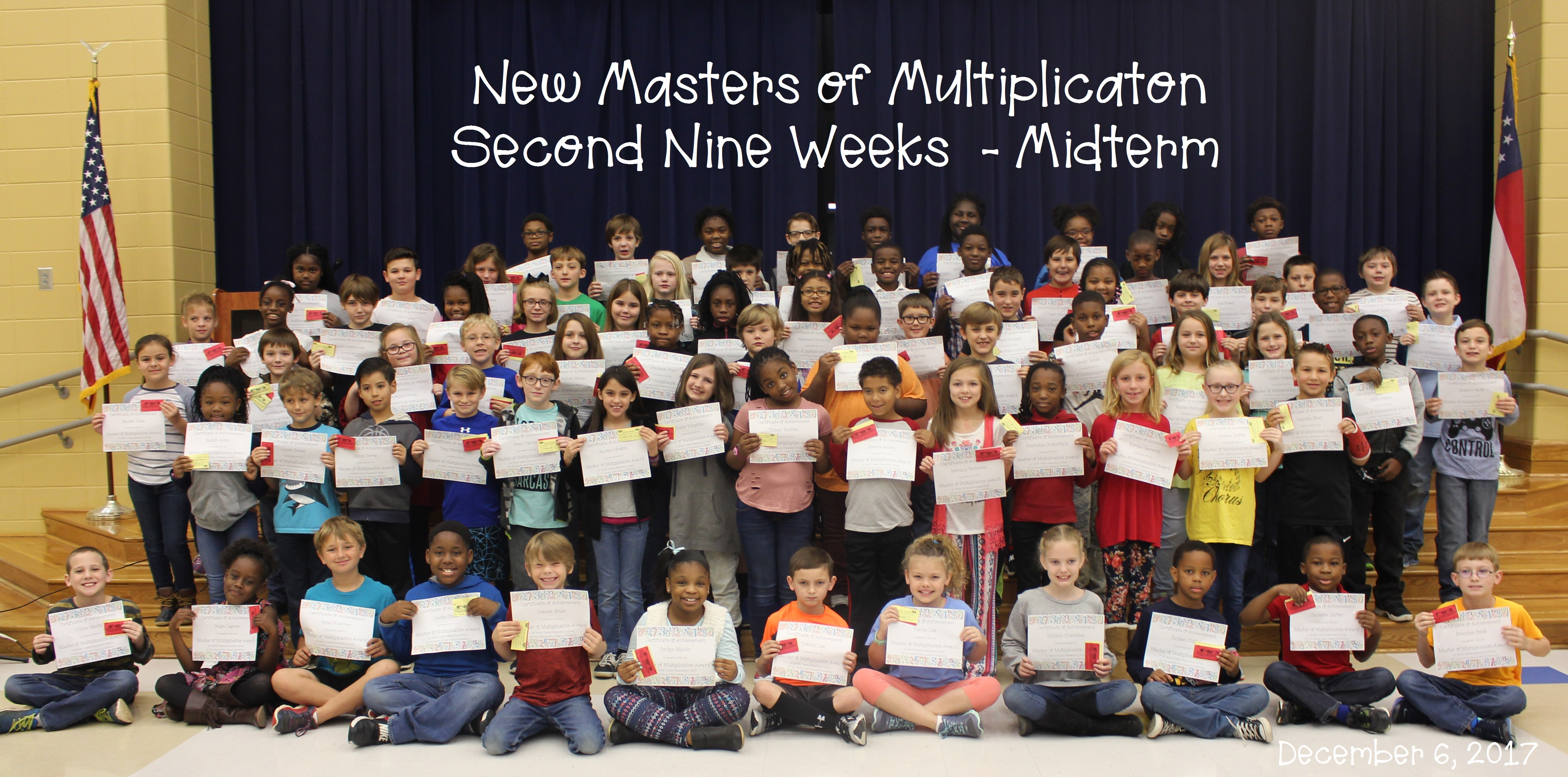 Masters of Multiplication