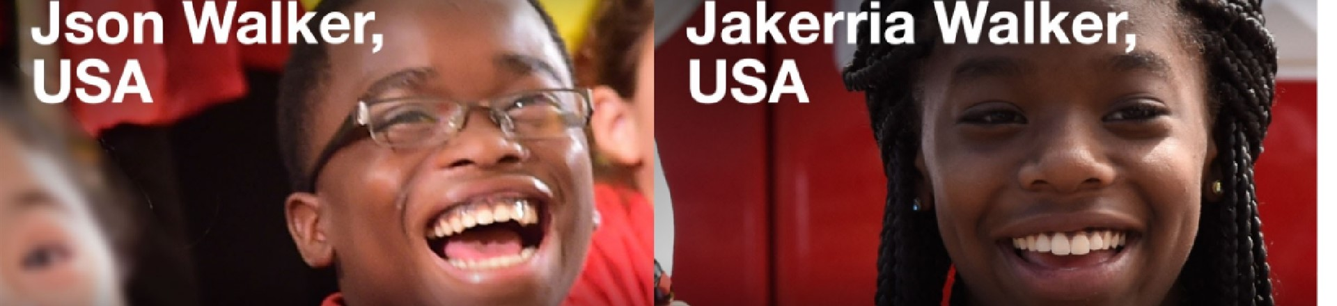 Our Olympic Kids - J'son & Jakerria participated in Opening Ceremonies Rio 2016