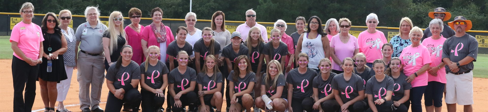 Lady Rams Softball Cancer Awareness Night