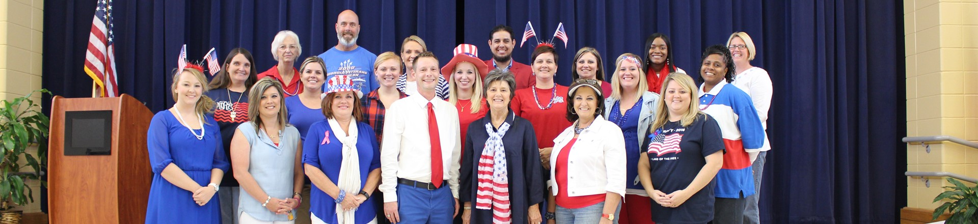 Red Ribbon Week - Wear Red, White and Blue