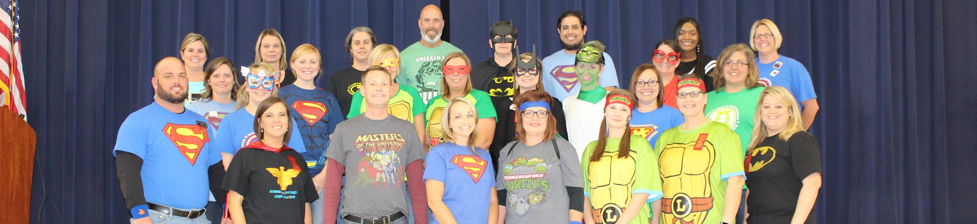 Red Ribbon Week - Super Heroes