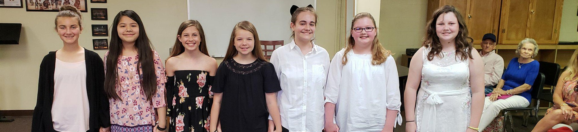 6th Grade Choral Students - Superior Ratings