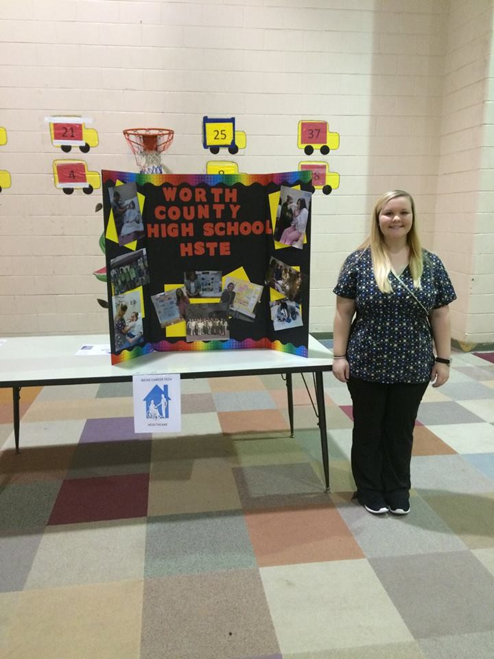 WCHS Helps with Career Fair at WCPS and WCMS