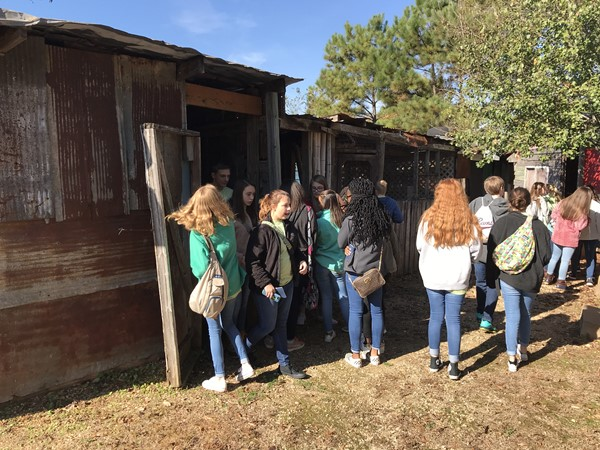 Junior Beta Club visited the Habitat for Humanity Global Village and Discovery Center.