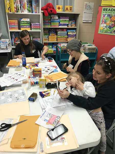 WCPS Make & Take Parent Workshop January 2018