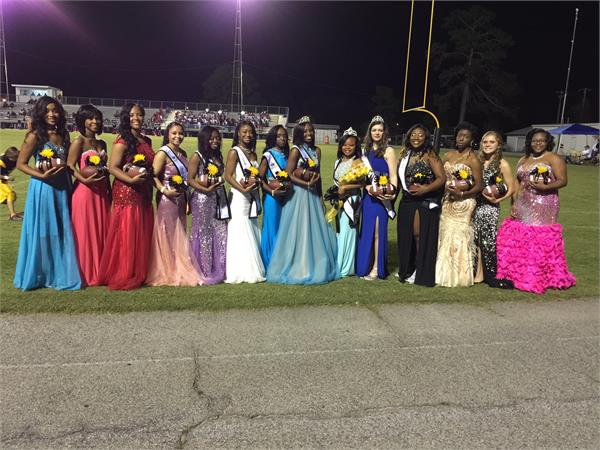Homecoming Court Crowning - 10/16/2015