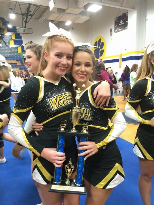Competition Cheer at Cougar Classic - 1st Place - 9/19/2015