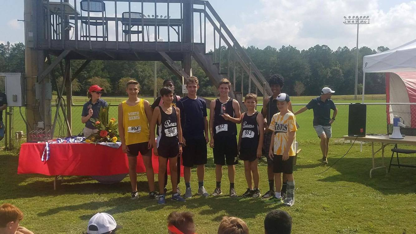 WCMS Boys Cross Country 2nd Place